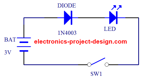 led circuit design for penlight or keychain rh electronics project design com