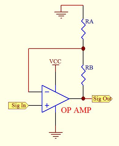 Non-Inverting Op Amp CIrcuit