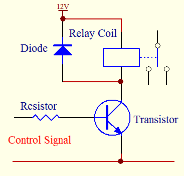 Diode As Back EMF Protection