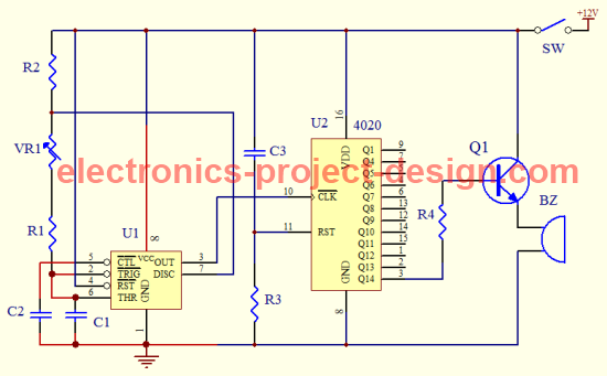 Kitchen Timer Circuit